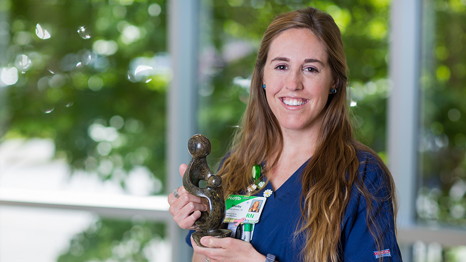 Floyd Nurse Honored for Outstanding Care