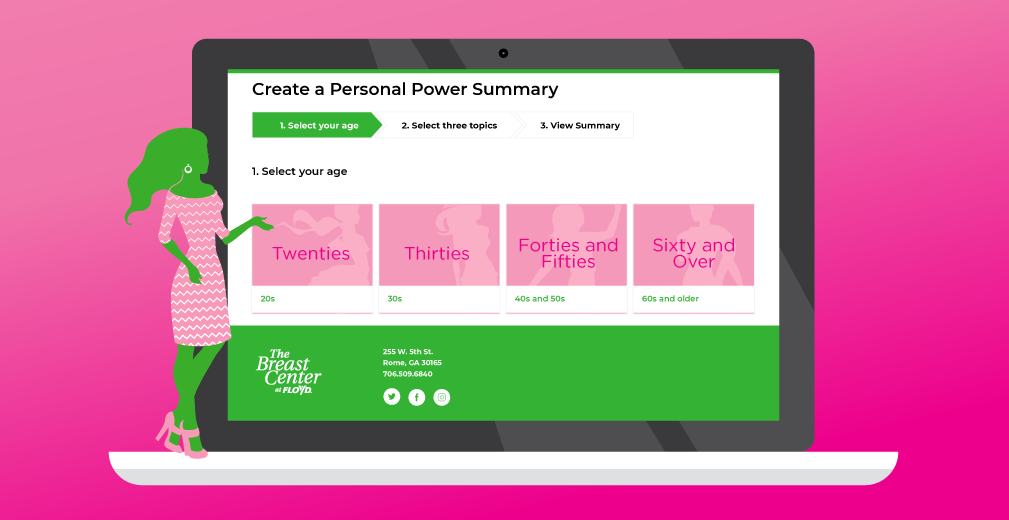 Floyd Offers Website to Help You Say Know to Breast Cancer