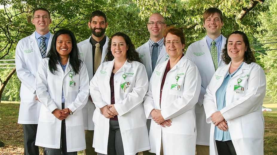 Physicians Graduate from Floyd's Family Medicine Residency Program