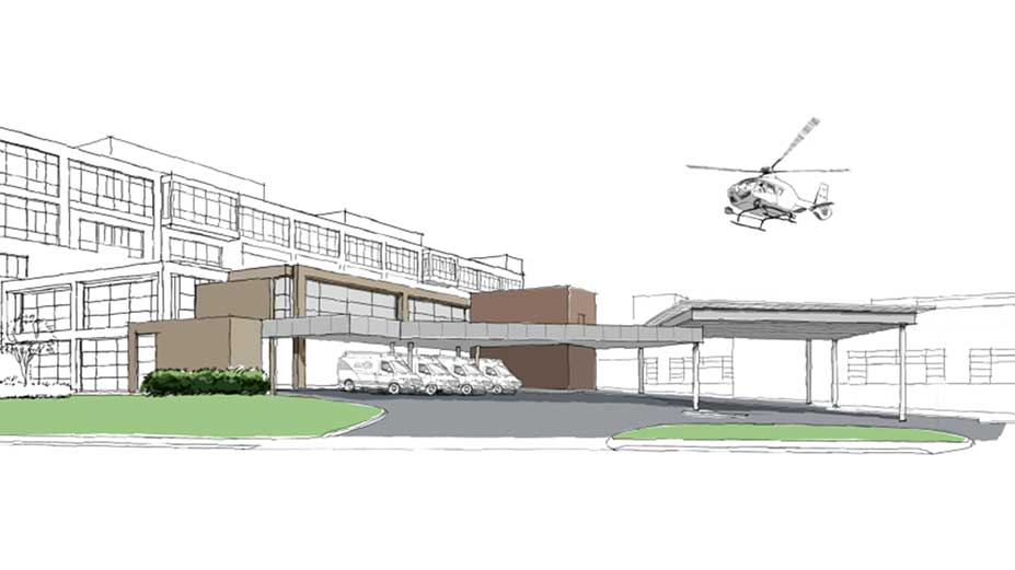 Board approves helipad construction at Floyd's Trauma Center