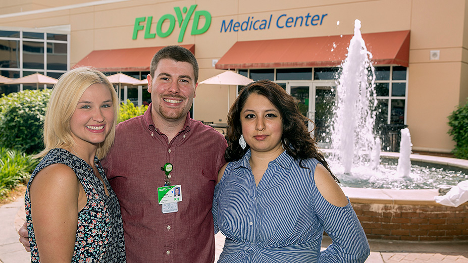 Floyd Names Top Nurse, CNA, Nurse Tech
