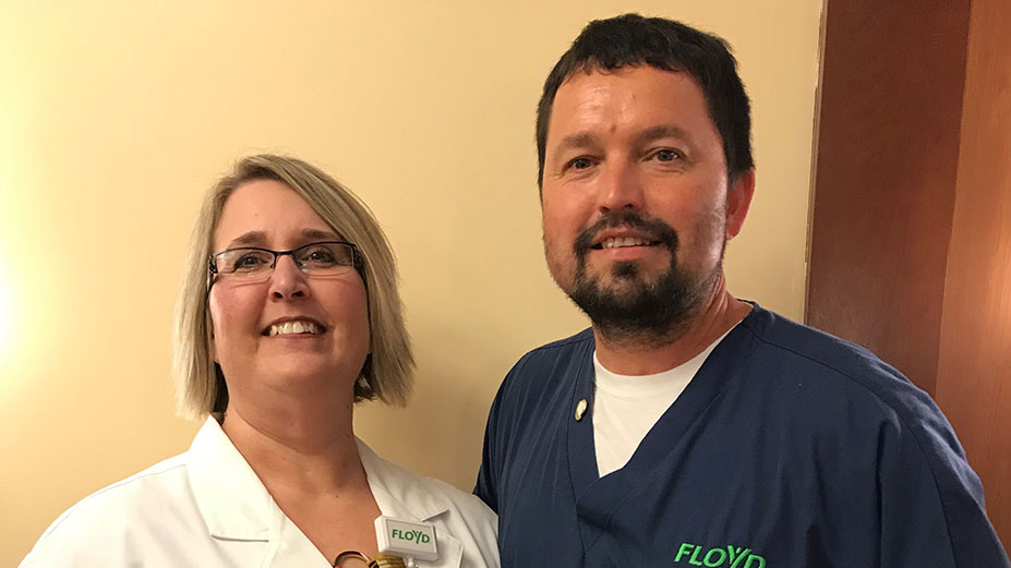 Floyd Nurse Recognized for Compassionate Care