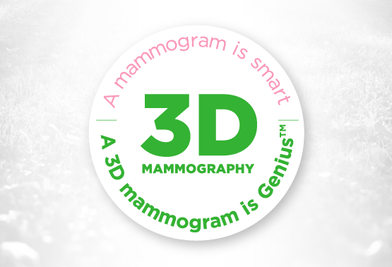 Our 3D Mammogram is Genius™