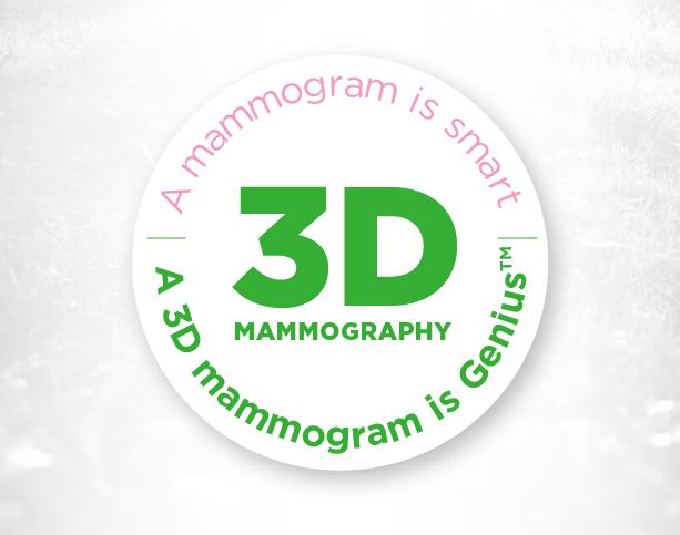 Our 3D Mammogram is Genius™