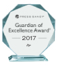 Press Ganey Guardian of Excellence Award 2017 The Breast Center at Floyd