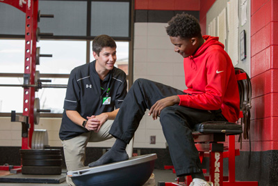 Athletic Trainer for Floyd Physical Therapy and Rehab