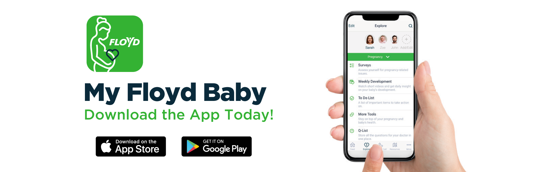 Download My Floyd Baby App