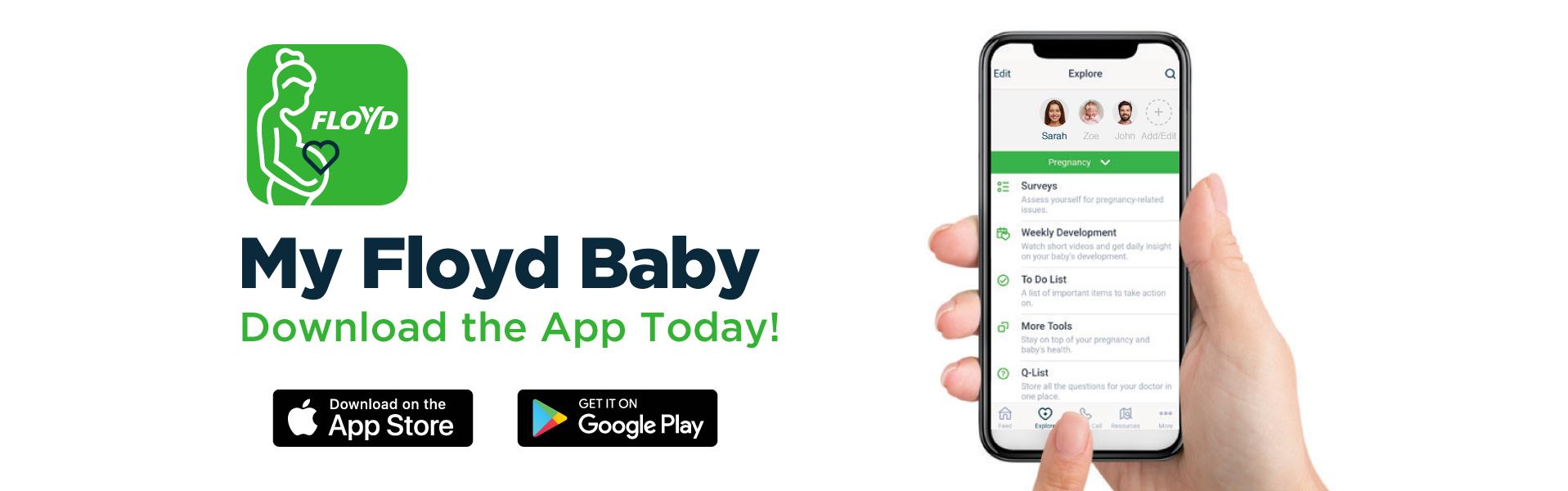 Maternity My Floyd Baby App